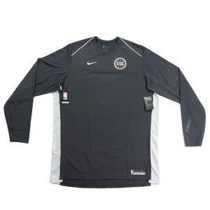 New Nike Detroit Pistons Team Issued Shirt Gray